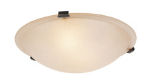 Livex Lighting 5622-07 - 2 Light Bronze Ceiling Mount