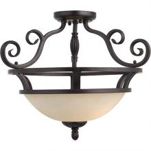 Maxim 12201FIOI - Manor 2-Light Semi-Flush Mount
