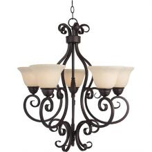 Maxim 12205FIOI - Manor-Single-Tier Chandelier