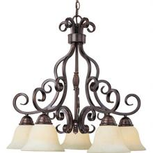 Maxim 12206FIOI - Manor-Down Light Chandelier
