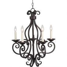 Maxim 12215OI - Manor-Single-Tier Chandelier