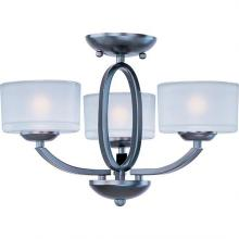 Maxim 19041FTOI - Elle 3-Light Semi-Flush Mount/Chandelier