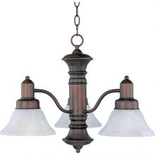 Maxim 20326MROI - Newburg-Down Light Chandelier
