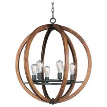 Maxim 20918APAR - Bodega Bay-Single-Tier Chandelier