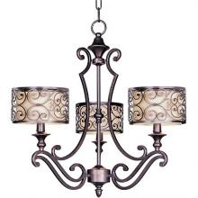 Maxim 21153WHUB - Mondrian-Single-Tier Chandelier