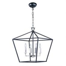 Maxim 25156TXBPN - Abode-Single-Tier Chandelier
