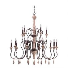 Maxim 39611SW - Olde World-Multi-Tier Chandelier