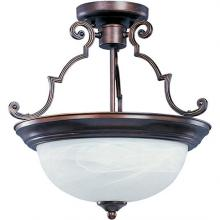 Maxim 5844MROI - Essentials 3-Light Semi-Flush Mount