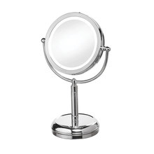Dainolite LEDMIR-2T-PC - LED Table LED Lighted Magnifier Mirror