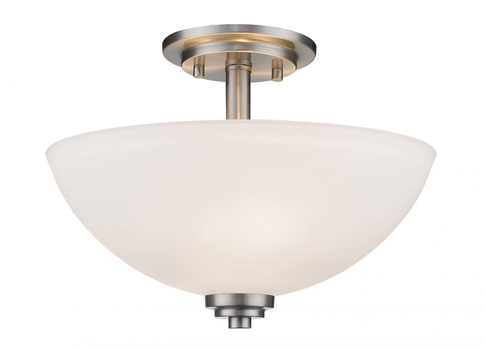 Munro Lighting in Saint John, New Brunswick, Canada,  304AW9L, 3 Light Semi Flush Mount, Ashton