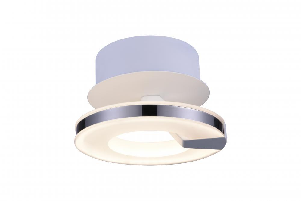 LED White  Semi-Flush Mts from our Karwell collection