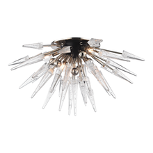 Hudson Valley 9028-PN - 6 Light Semi Flush