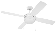 "Ellington Fan LAV52MWW4-NRG - Laval 52"" NRG Ceiling Fan with Blades and Light in Matte White"