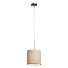 Steven & Chris SC520OM - Mercer Street 1 Light  Oatmeal Pendant