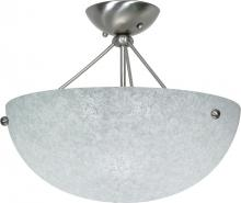 Nuvo 60-132 - South Beach 3 Light Semi Flush