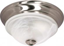 "Nuvo 60-461 - Triumph - 2 Light Cfl - 11"" - Flush Mount - (2) 13W GU24 Lamps Included"