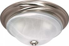 "Nuvo 60-463 - Triumph - 2 Light Cfl - 16"" - Flush Mount - (2) 18W GU24 Lamps Included"