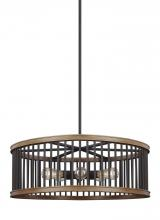 Feiss F3116/5WRI/TWO - 5 - Light Pendant