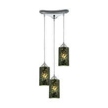 ELK Lighting 10504/3 - Illusions 3 Light Pendant In Polished Chrome