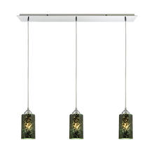 ELK Lighting 10504/3LP - Illusions 3 Light Pendant In Polished Chrome